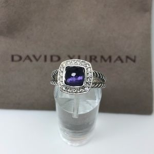 David Yurman orchid diamond petite Albion ring